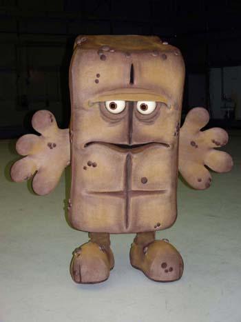 Bernd das Brot in seiner Transportkiste - Bernd das Brot bei seiner